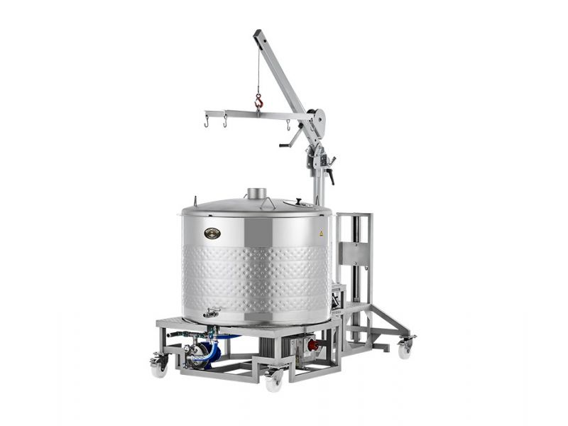 Braumeister 500 l sörfőzőgép