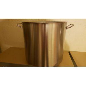 HASZNÁLT - 50 Literes rozsdamentes fazék