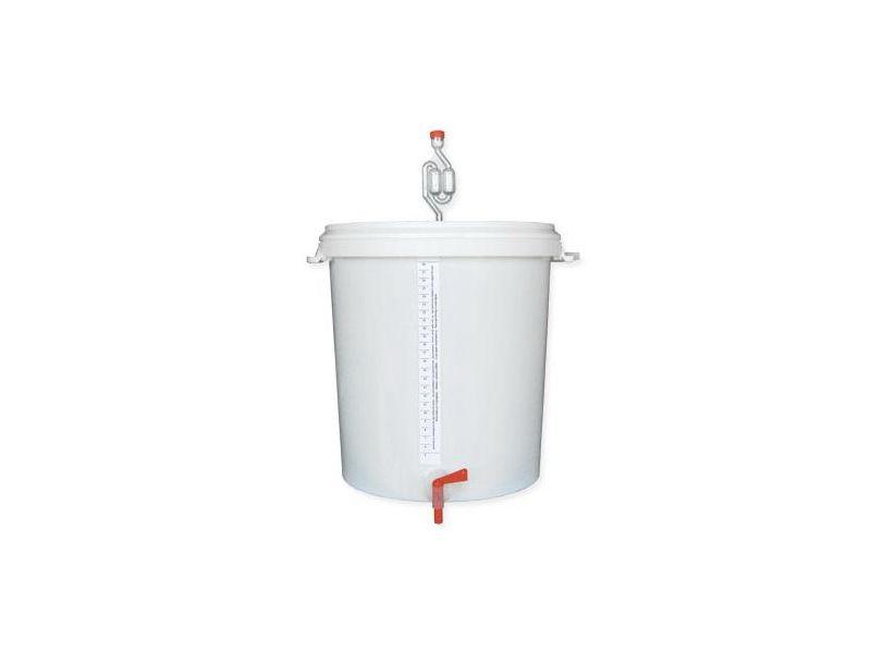 30 literes műanyag erjesztő vödör