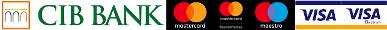 Kártyás fizetés szolgáltatója, Elfogadott kártyák